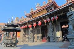 Lecheng tempeldrake Taichung Taiwan royaltyfri foto