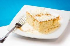 Leches dos tres de Torta Foto de Stock