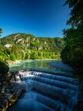 Lechfall in Germany Pfronten Füssen Waterfall royalty free stock photo