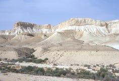 Lecho de un río seco del desierto Fotografía de archivo libre de regalías