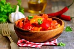 Lecho mariné, cuisine hongroise image stock