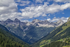 In the Lechtal Alps Royalty Free Stock Photography