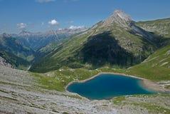 Lechtaler Alpen,奥地利 免版税库存图片