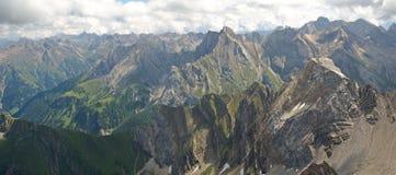 Lechtaler Alpen , Austria Stock Photography