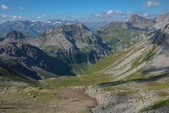 Lechtaler Alpen , Austria Royalty Free Stock Photo