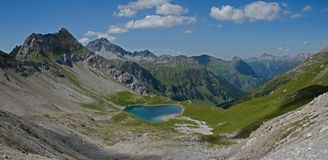 Lechtaler Alpen , Austria Royalty Free Stock Photos