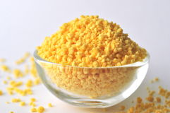 Lecithin granules - dietary supplement Royalty Free Stock Photo