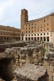 Lecka, Apulia, Włochy obraz stock