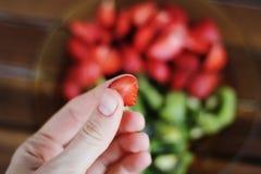Leckere Erdbeere Lizenzfreies Stockbild