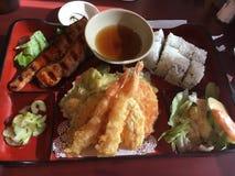 Leckere Sushi Stockfoto