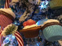 Leckerer Weihnachtsbaum stockbilder