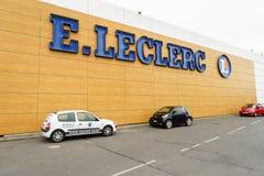 Leclerc hypermarket Royalty Free Stock Photography