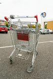 Leclerc shopping cart Royalty Free Stock Photography