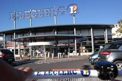 Leclerc Supermarket Royalty Free Stock Photo
