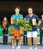 Leconte (R.) y Cagnina en Zurich abren 2012 Fotografía de archivo
