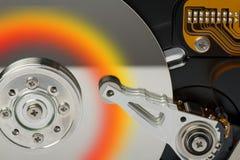 Lecteur #1 de disque dur Photos stock