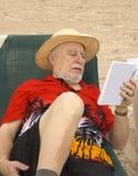 Lecteur aîné 2 Photographie stock libre de droits