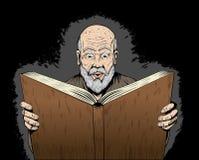 Lecteur avide illustration libre de droits