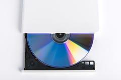 Lecteur cd externe de brûleur de dvd Images libres de droits