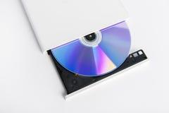 Lecteur cd externe de brûleur de dvd Photographie stock libre de droits