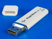 Lecteur d'instantané d'USB photographie stock