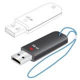 lecteur d'instantané d'USB 3D