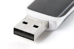 Lecteur d'instantané d'USB d'isolement Photo libre de droits