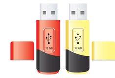 Lecteur d'instantané d'USB, illustration illustration stock