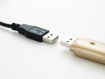 Lecteur d'USB image stock
