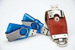 Lecteur d'USB photographie stock