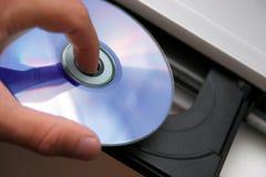 Lecteur de CD Photographie stock