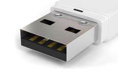 Lecteur de crayon lecteur d'USB illustration stock