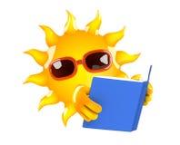 lecteur de 3d Sun illustration libre de droits