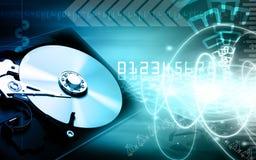 Lecteur de disque compact illustration stock