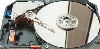 Lecteur de disque dur. Photographie stock