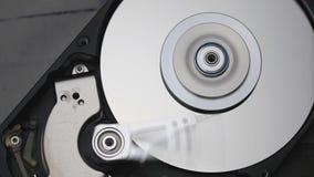 Lecteur de disque dur banque de vidéos