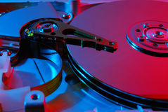 Lecteur de disque dur Images libres de droits