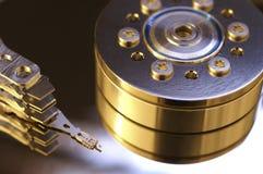 Lecteur de disque dur d'ordinateur Images stock