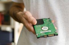 2 lecteur de disque dur de 5 pouces Image stock