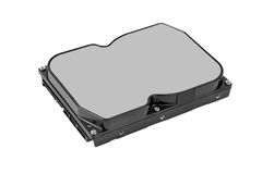 Lecteur de disque dur (HDD) Image libre de droits