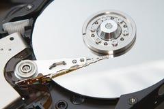 Lecteur de disque dur à l'intérieur Photographie stock libre de droits