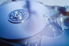 Lecteur de disque dur ouvert Image stock