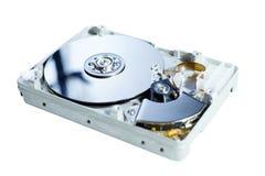 Lecteur de disque dur ouvert Photos stock