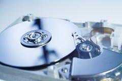 Lecteur de disque dur ouvert Image libre de droits