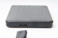 Lecteur de disque dur portatif Images libres de droits