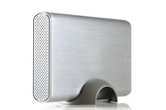 Lecteur de disque dur portatif externe Images libres de droits