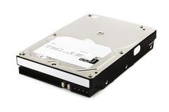 Lecteur de disque dur sur le blanc Photo libre de droits