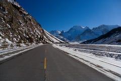 Lecteur de l'hiver Photographie stock libre de droits