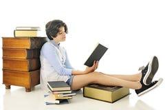 Lecteur de premier rang Image libre de droits