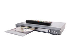 lecteur DVD Photos libres de droits